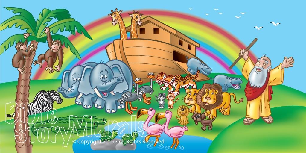 Old Testament Murals   Bible Story Murals