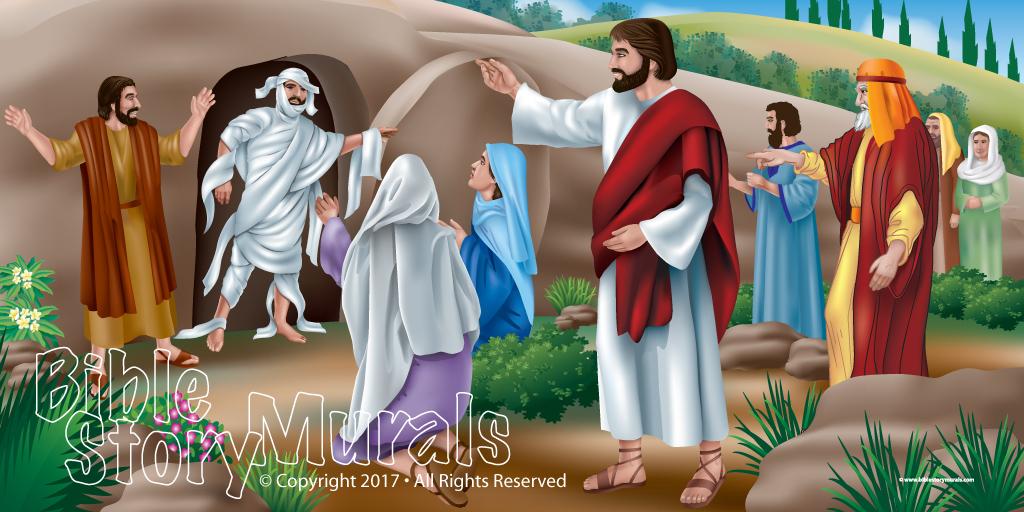 Jesus Raises Lazuras from the Dead